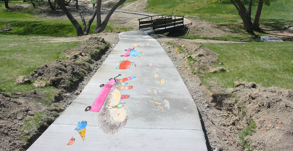 Sidewalk Chalk ImaginationParade