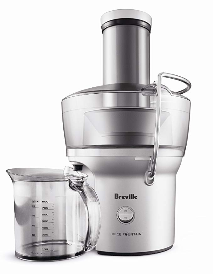 Click on    Breville Compact Juicer  for the juicer that's been with me for over a decade!