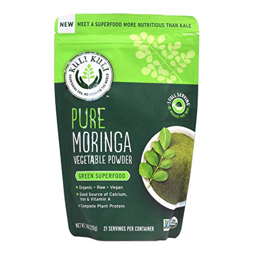 Anti-inflammation and Detoxification! - Add 1 TBSP Organic Moringa to your green juices, smoothies and protein shake! Moringa leaves are high in iron, B vitamins, and contain all 9 essential amino acids, making it a complete protein. This plant is especially helpful for MUSCLE SORENESS!