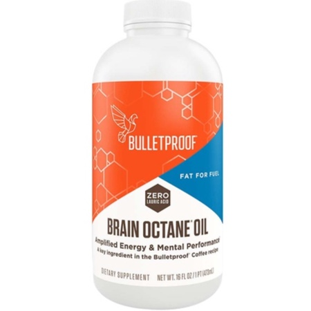 Burn MORE Fat… - AND boost your body's Energy, Immune system and Mental Focus. Add Brain Octane MCT Oil to your Bulletproof Coffee! MCT bypasses fat storage, and can jumpstart metabolism with FAST energy to your brain and muscles!
