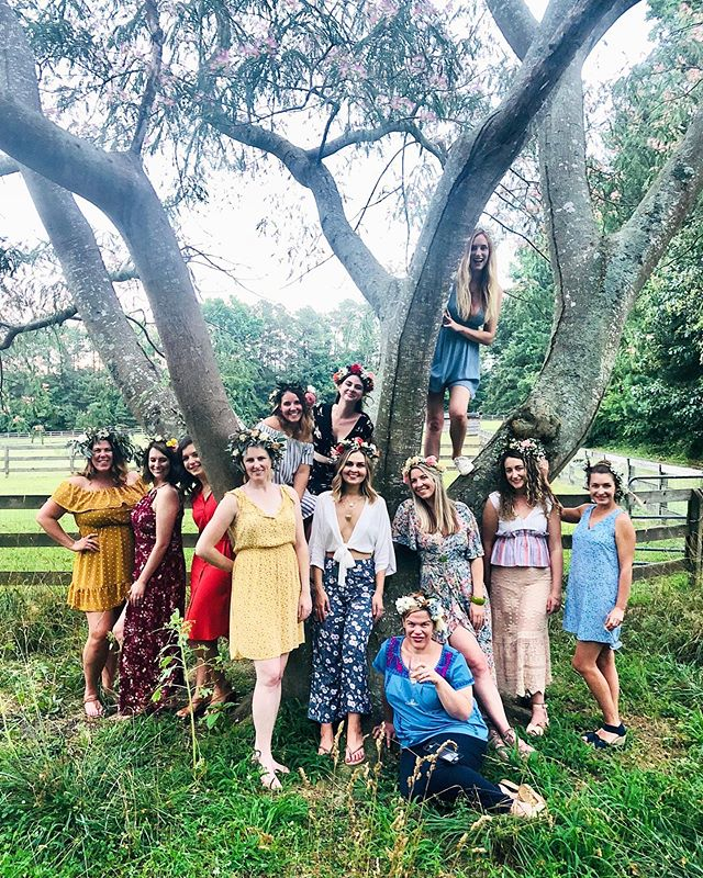 #fbf to last year's summer solstice! 🌞 I've had many glorious solstice celebrations but the first one at our new home is hard to top 🍉! This year we're heading to Carrboro NC for the @nightmovesmpls show 🌸. Best believe I've got my flower crown🙋♀️! Make note: Summer solstice 2020 at @jubilee.gardens is going to be legendary!🌅🌺🦋🏵🍍🌈🧿💛🌴🥭🔮🌱☀️🥥💎☸️ #meristemfloral #floraldesign #raleigh #nc  #ncbride #ncwedding #weddingflorist #durham #chapelhill #raleighflorist #flowers #forflowerlovers #beauty  #reception #flashesofdelight #bouquet #summersolstice  #raleighwedding #solstice #virginiawedding #raleighflowers #raleighbride #flowercrown #meristemmagic #charlestonwedding #litha