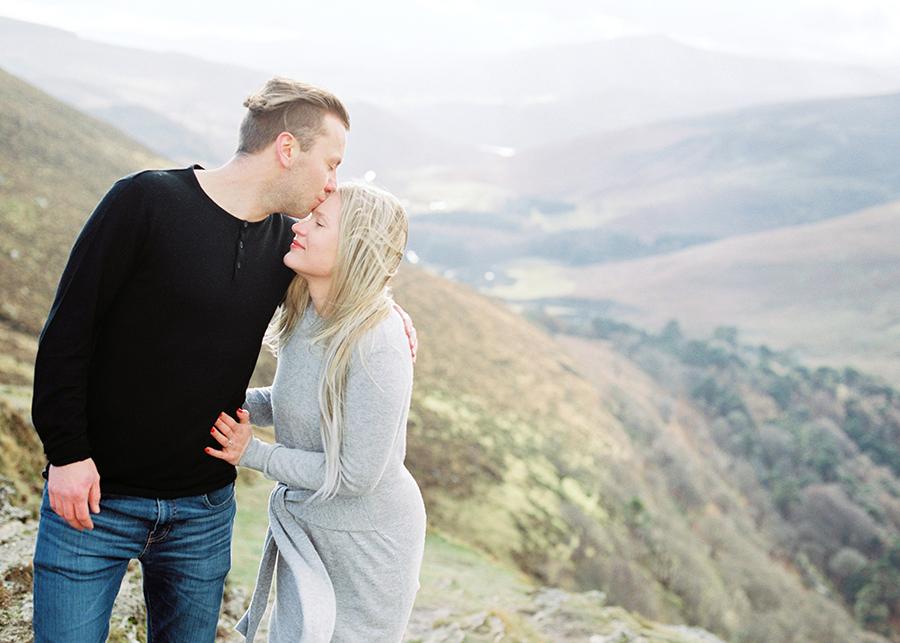 Destination Couple Shoot Ireland, Destination Wedding Photographer Europe, Dublin, Ireland, Wicklow Mountains, Parikuvaus, Kihlakuvaus
