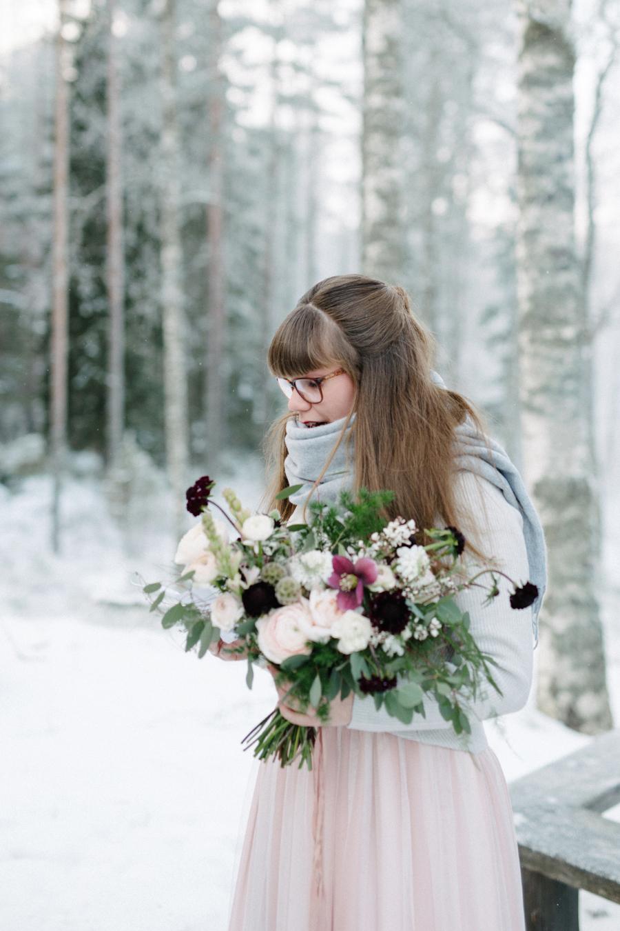 Romany and Juho's surprise winter wedding at Evon Luonto, talvihäät (19).jpg