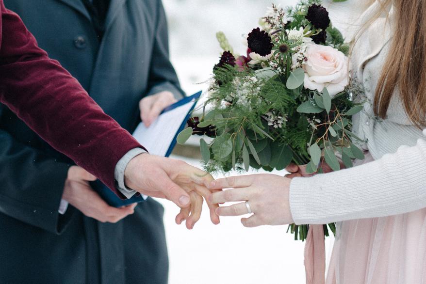 Romany and Juho's surprise winter wedding at Evon Luonto, talvihäät (26).jpg