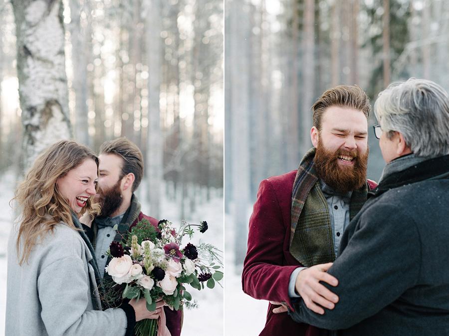 Romany and Juho's surprise winter wedding at Evon Luonto, talvihäät (28).jpg
