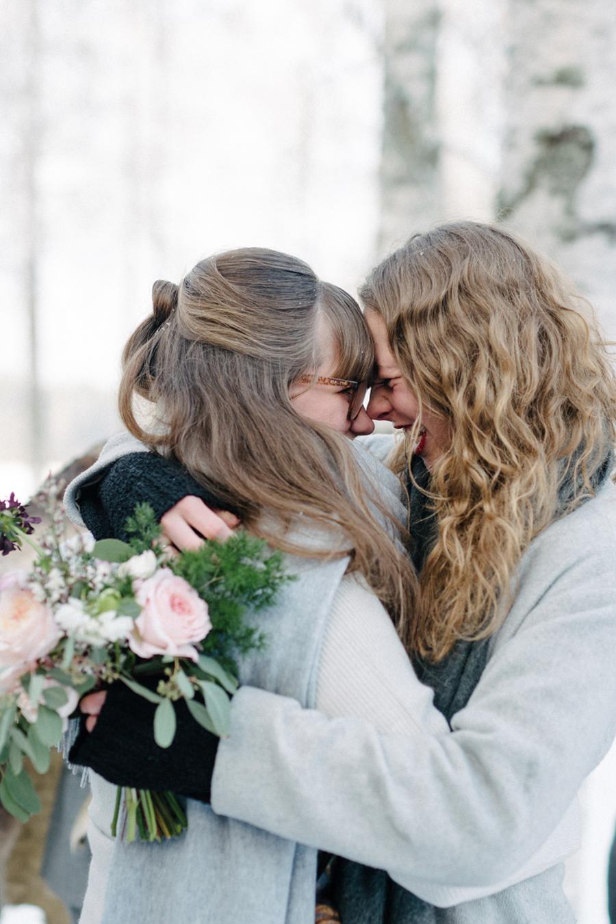 Romany and Juho's surprise winter wedding at Evon Luonto, talvihäät (30).jpg