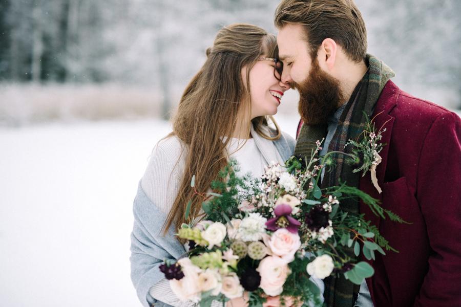 Romany and Juho's surprise winter wedding at Evon Luonto, talvihäät (43).jpg