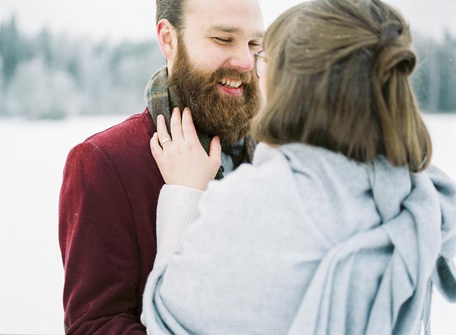 Romany and Juho's surprise winter wedding at Evon Luonto, talvihäät (90).jpg