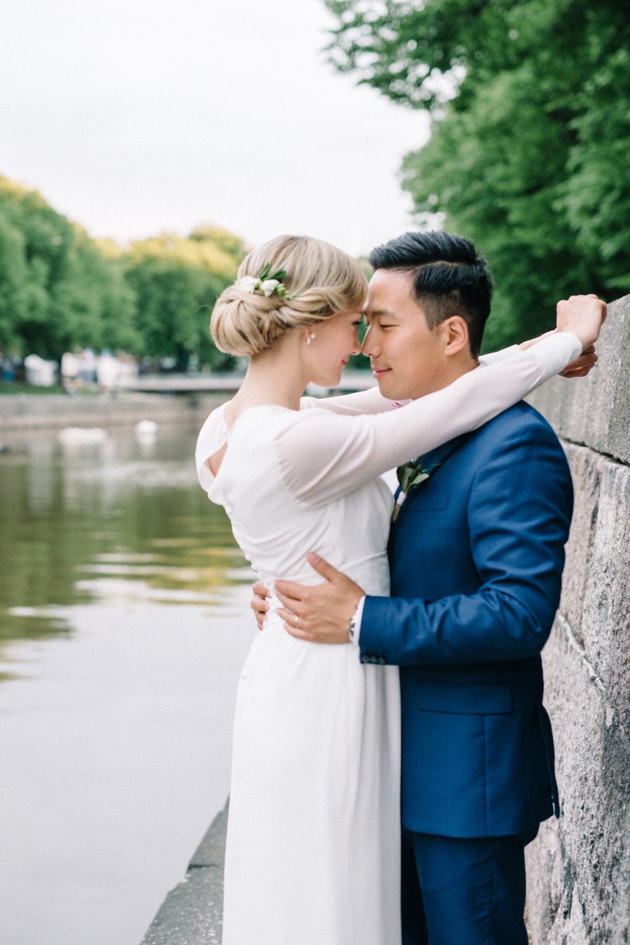 Justina & Lee, Chinese-Lithuanian wedding at Restaurant Tårget, Turku