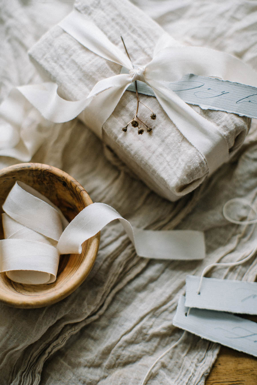 Organic Gift Wrapping Inspiration