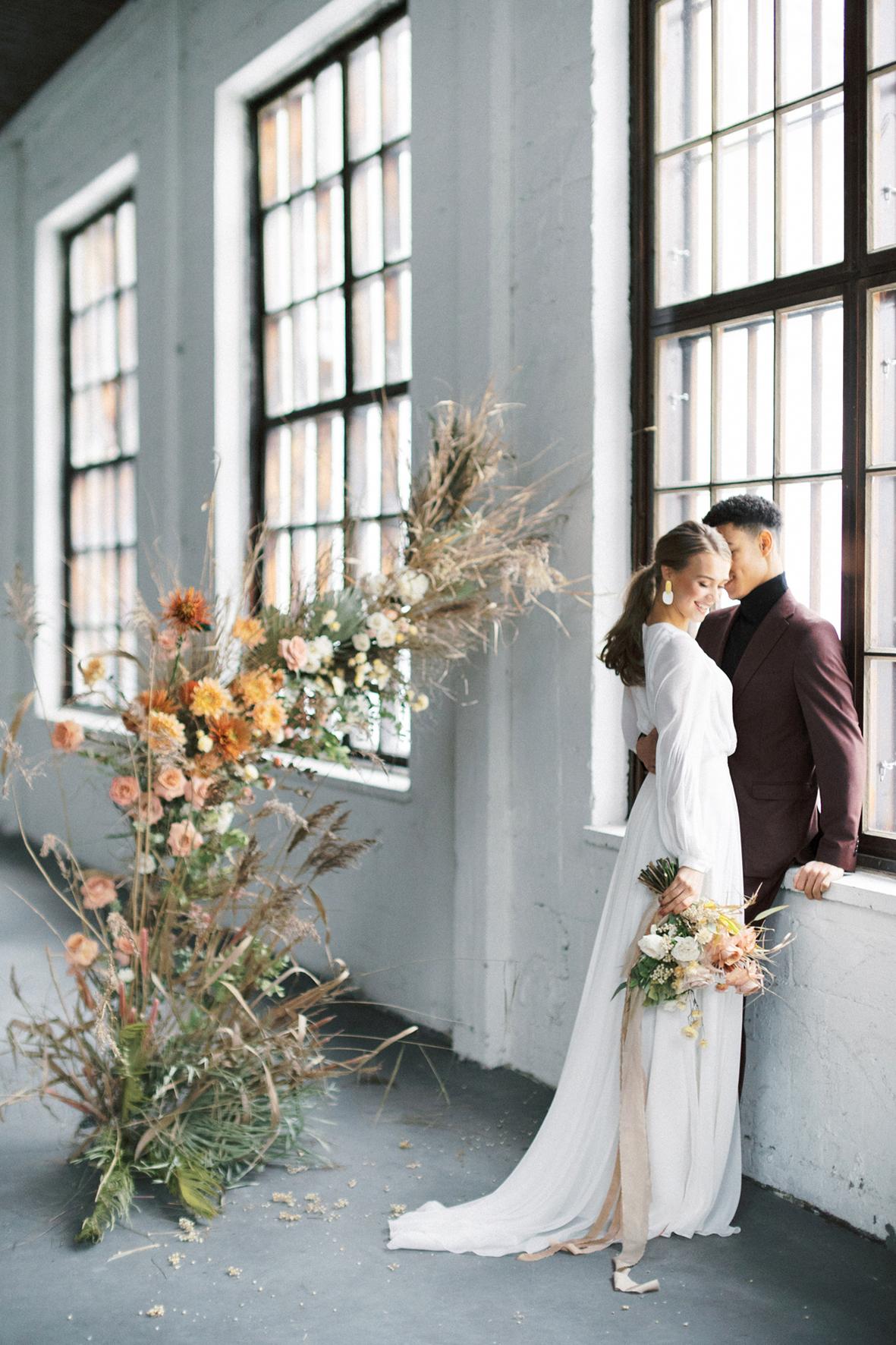 A Vibrant Loft Winter Wedding in Fiskars, Finland