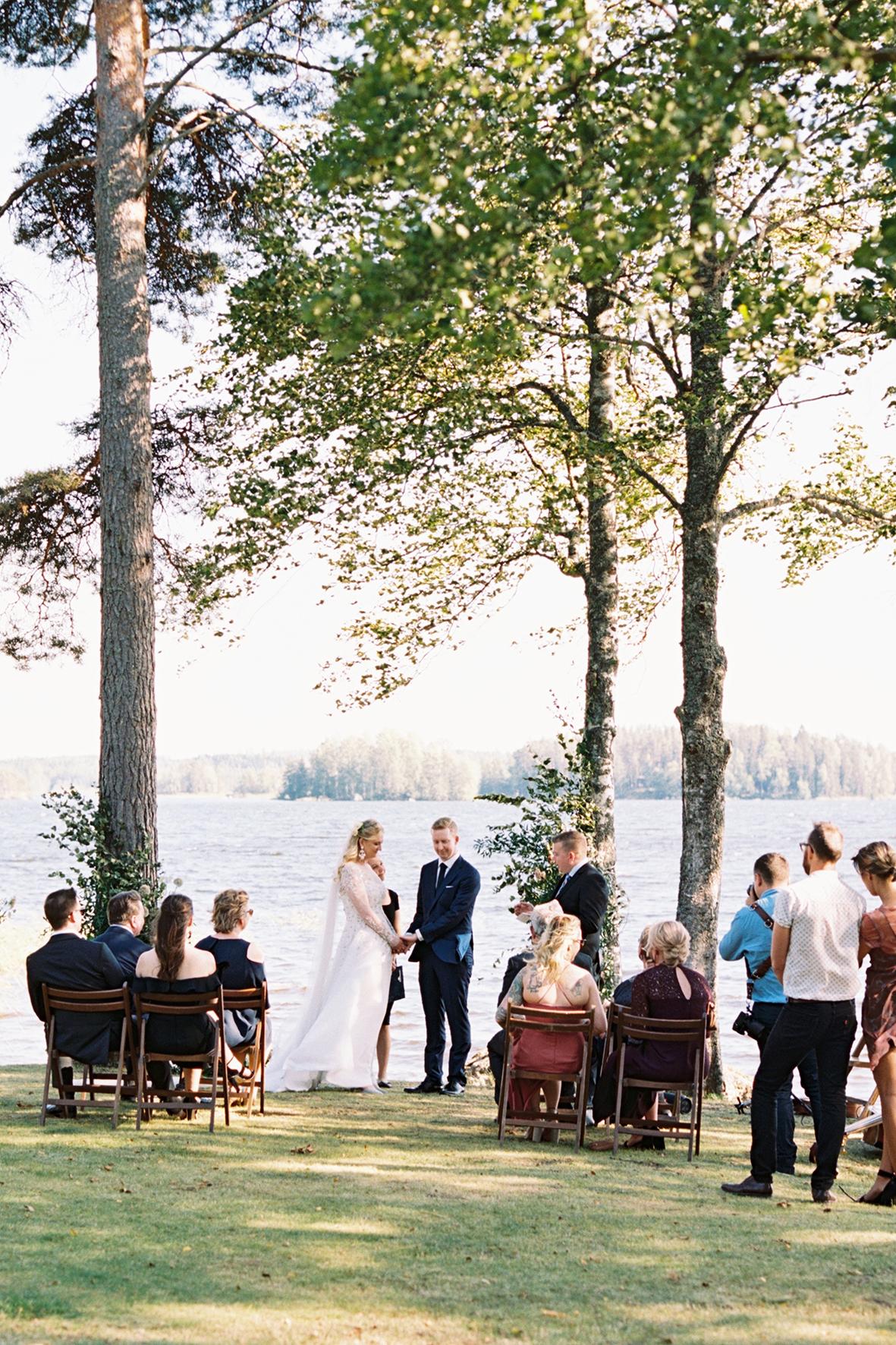 Jess & Jason's Intimate Elopement Wedding in Finland