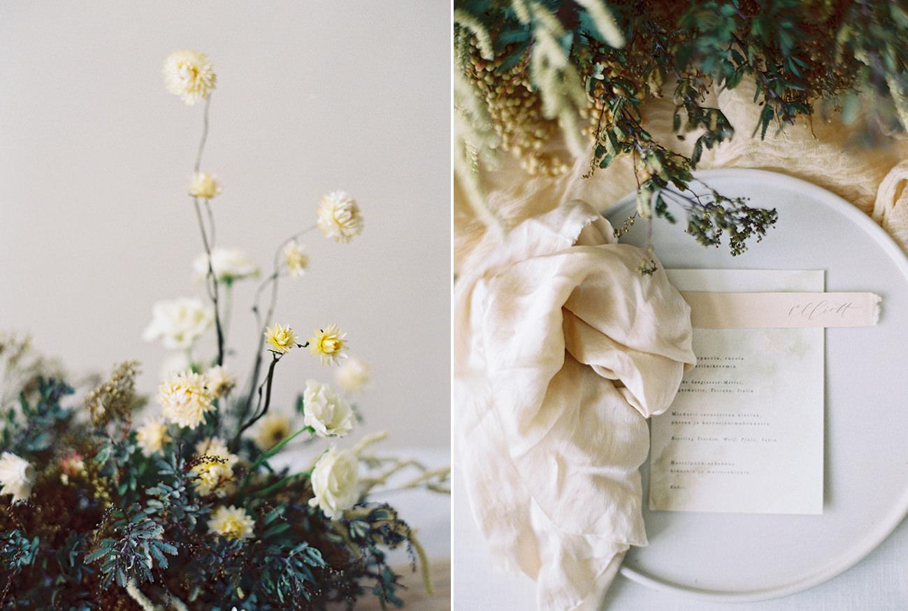 Bridal Inspiration, Wedding Bouquet, Hääkuvaus, Film Wedding Photographer, Table Setting Inspiration, Stationery, Dried Flowers, www.nordandmae.com, www.susannanordvall (22).jpg