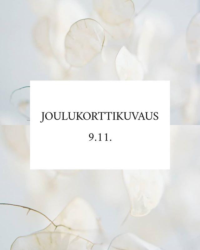 JOULUKORTTIKUVAUS/MINIKUVAUS  Huomenta ihanat,  Järjestän Helsingissä 9.11. @babypopitup - tapahtumassa joulukorttikuvauspisteen, johon voi aikoja alkaa nyt varailemaan. Aikoja on rajoitetusti, joten varmistathan paikkasi ajoissa.  Suunnittelimme juuri pari päivää sitten kuvaustaustan ja voin sanoa, että siitä tulee upea! Luonnollinen ja talvinen, mutta sellainen, että joulupyhienkin jälkeen voi esillä pitää.  Kuvaus on 65€ ja sisältää 10 min kuvausaikaa, sekä 1 digitaalisen tiedoston. Lisäkuvia voi ostaa koevedosgalleriasta, sekä paikalla tulee olemaan joulukorttipohjia esimerkkinä, jos haluaa kauttani tilata suoraan valmiit joulukortit. Eli ei voisi helpompaa olla!  Tuo siis lapsesi, tai vaikka koko perheesi kuvaan! (Pyrin laittamaan näköesteitä kuvauspisteelle, jotta saamme kunnon kuvausrauhan.) Toivottavasti näen just teidän perheen siellä! 😊  Varauslinkki löytyy profiilistani!  #minikuvaus #minikuvauspäivä #joulukorttikuvaus #joulukorttikuvausta #babypopitup #perhekuvaus #perhekuvaushelsinki #lapsikuvaus #lapsikuvaushelsinki #vauvakuvaus #vauvakuvaushelsinki #vauva2013 #vauva2014 #vauva2015 #vauva2016 #vauva2017 #vauva2018 #vauva2019 #valokuvaushelsinki #valokuvausespoo #tapahtuma #thisishelsinki #valokuvaajahelsinki #mothersinbusinesshelsinki #naisyrittäjät #helsingissätapahtuu