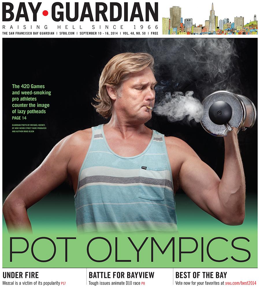 Guardian photo of Brad Olsen by Michael Keeney