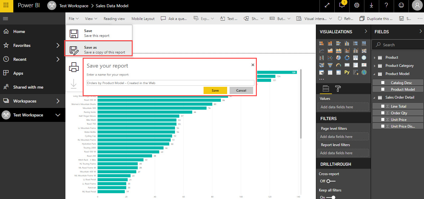 PBI SaveReport Why You Should Create Reports in Power BI Desktop Instead of the Power BI Service