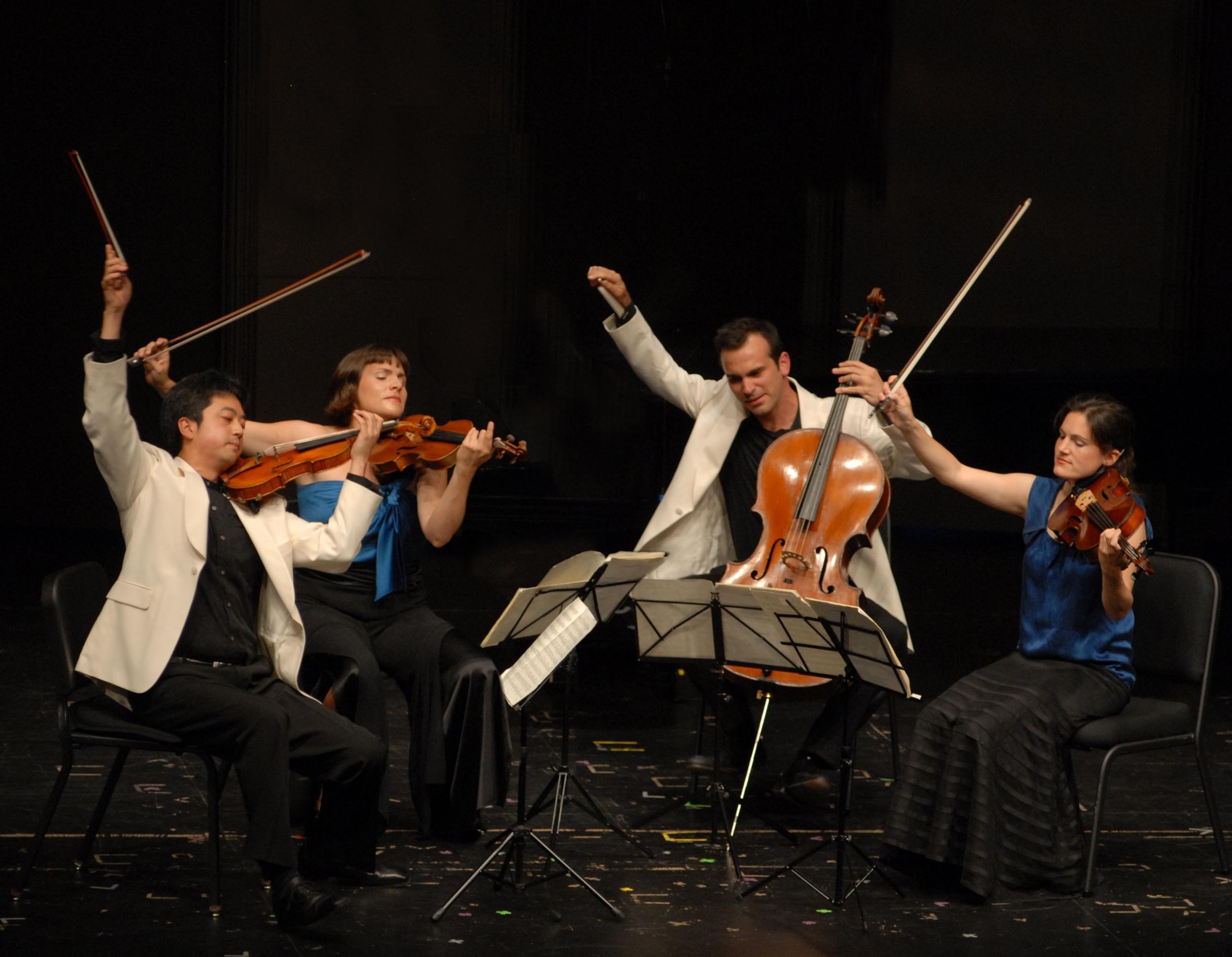 Click for information about the Jupiter Quartet