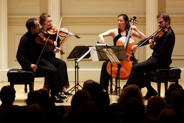 Click for information on the Brentano Quartet