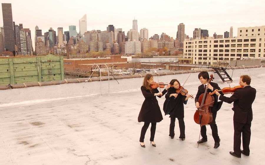 Click for information about the Attacca String Quartet