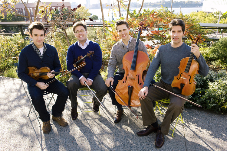 Click here for information about the Escher String Quartet