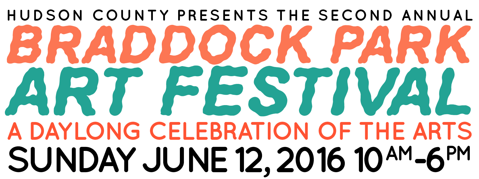 We are very excited to announce this year's Braddock Park Art Festival hosted on Sunday June 12th from 10am - 6pm.    We have a wide range of activities for the entire community to enjoy. You will take part in Artist Demos and Community Projects lead by Guttenberg Arts residents and staff, and find Artist Installations brought on location by select established artists from our network.Our Lakeside Artist Market will consist of local artists and galleries.Food Trucks selected from the surrounding area will be located along Riverside Drive.