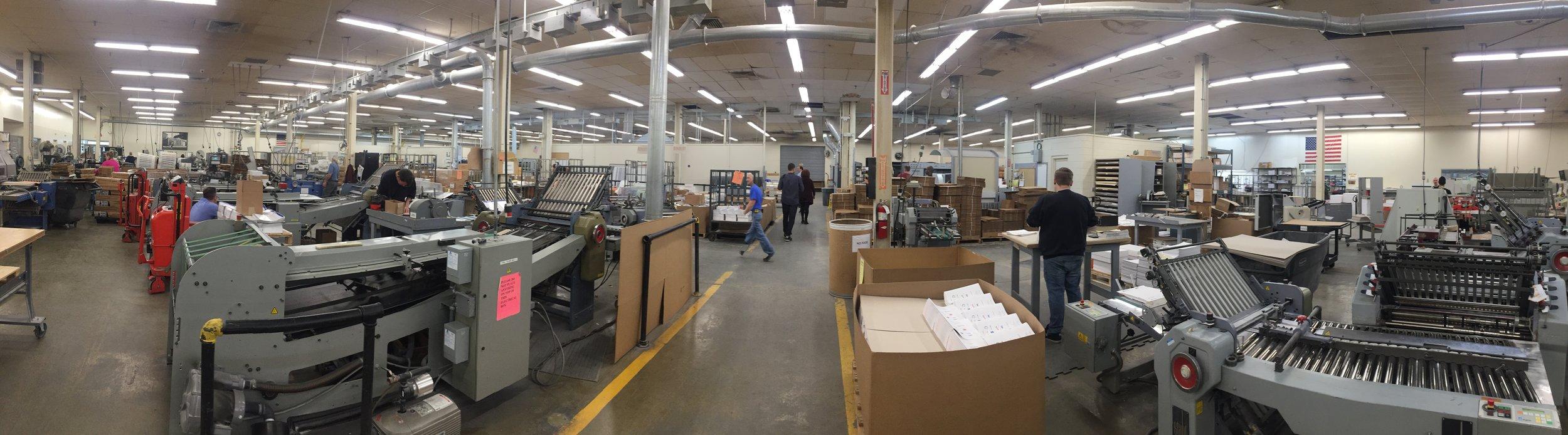 The Factory Floor!