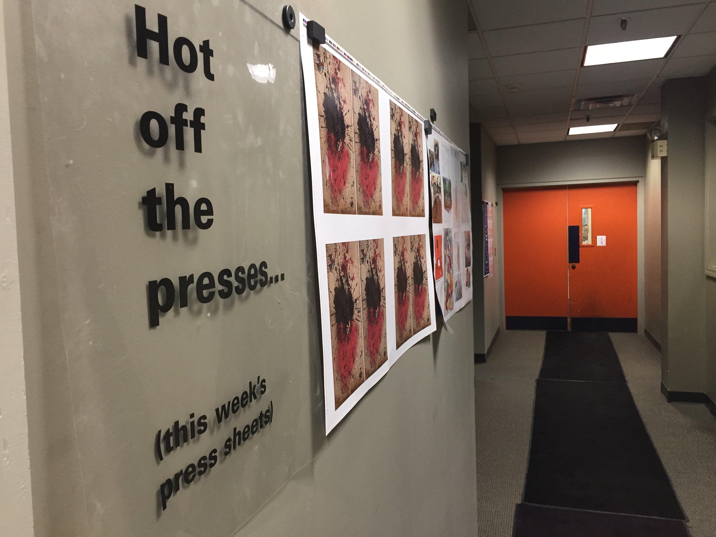 Hot off the Presses