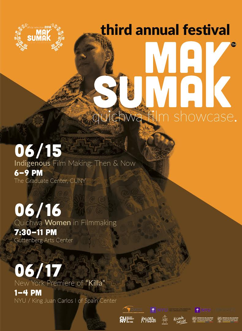 The showcase is a celebration of indigenous and community filmmaking in the Quecha languages spoken throughout the Andes and by immigrants in the United States.