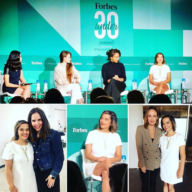 It was an absolute honor to speak at @Forbes #Under30Summit ! A gathering of 500 powerhouse women who are changing the game and changing the world! Here's to women building each other up and a new generation of the #girlboss ! Check out their amazing lineup! [LINK IN PROFILE] ... #mindfulness #meditation #mindbodysoul #health #wellness #zen #stem #tech #entrepreneurlife #girlpower #girlsrule ...