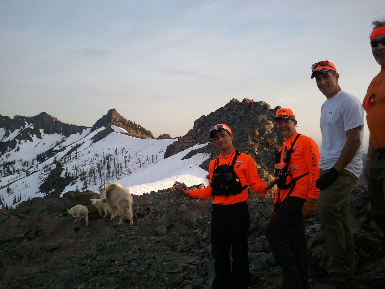 Goat observation team
