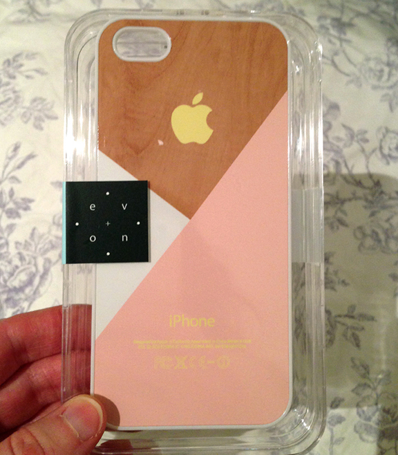 New Case for my Iphone 5- post holiday gift for myself...really feeling the pink lately