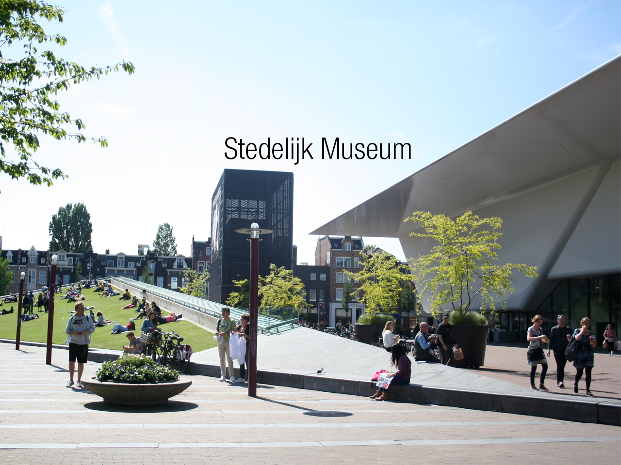 Day 2 led us to the Stedelijk Museum of modern art