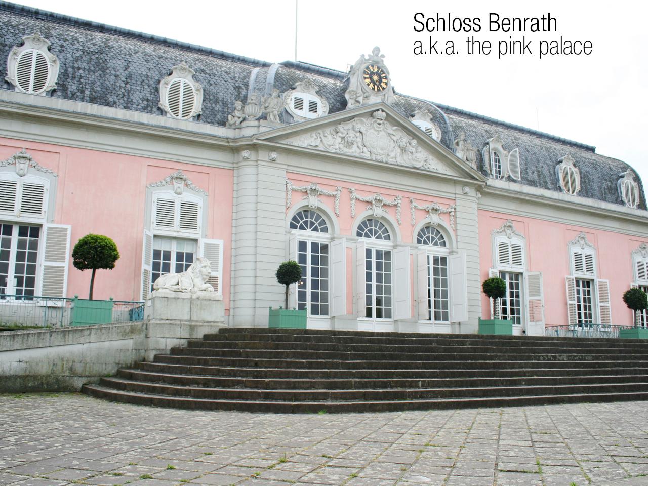 back to dusseldorf for a visit at Schloos Benrath