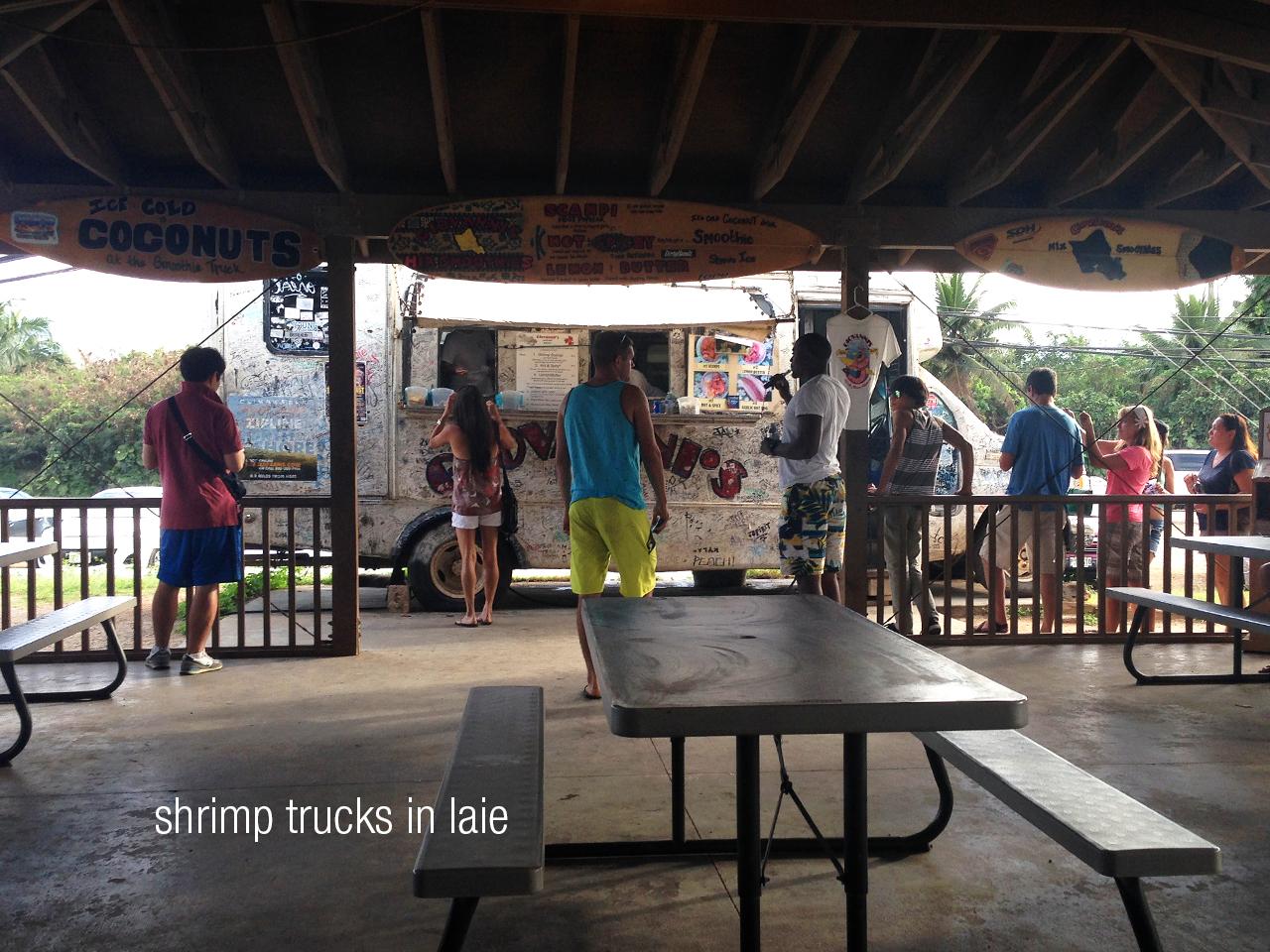 Dinner Time at Giovani's shrimp truck!