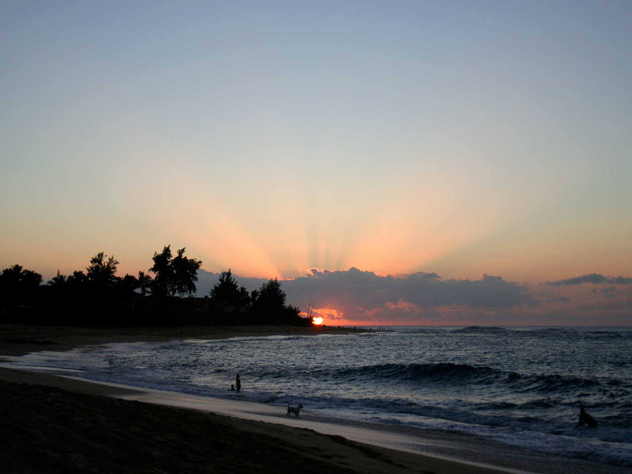 And what better way to end the day than by watching the sunset at Sunset Beach.