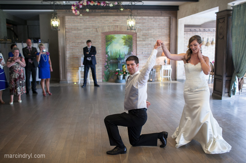 Brides and Grooms learn to dance at Quick Quick Slow Ballroom Dance Studio