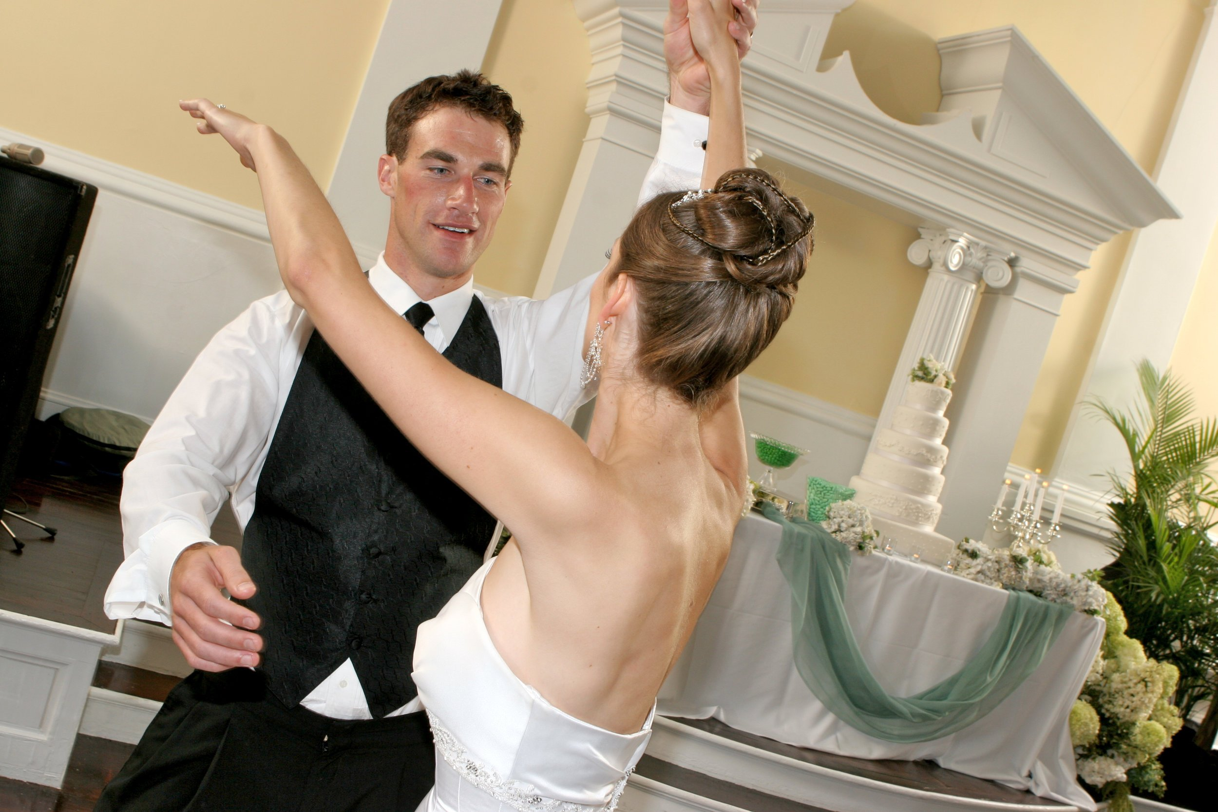 Newly Weds First Dance Together