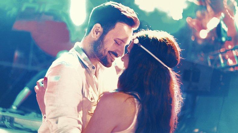 Couple falls in love again through dance