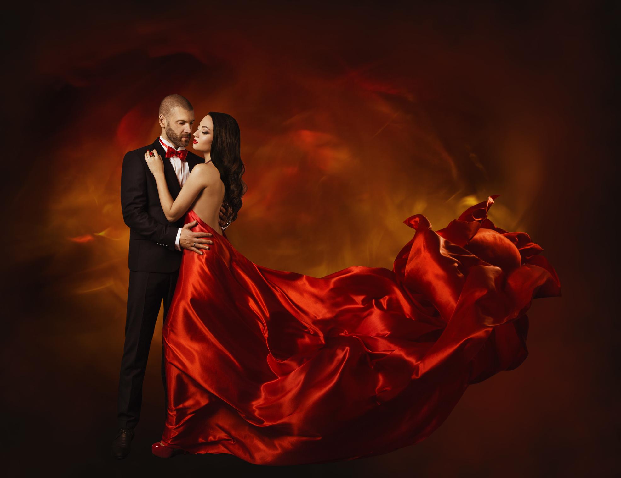 Elegant couple romantic dancing.Photo by inarik/iStock / Getty Images