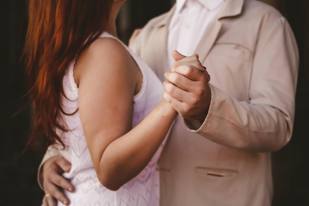 Dancing - Couple ballroom dancing - strengthen relationship concept