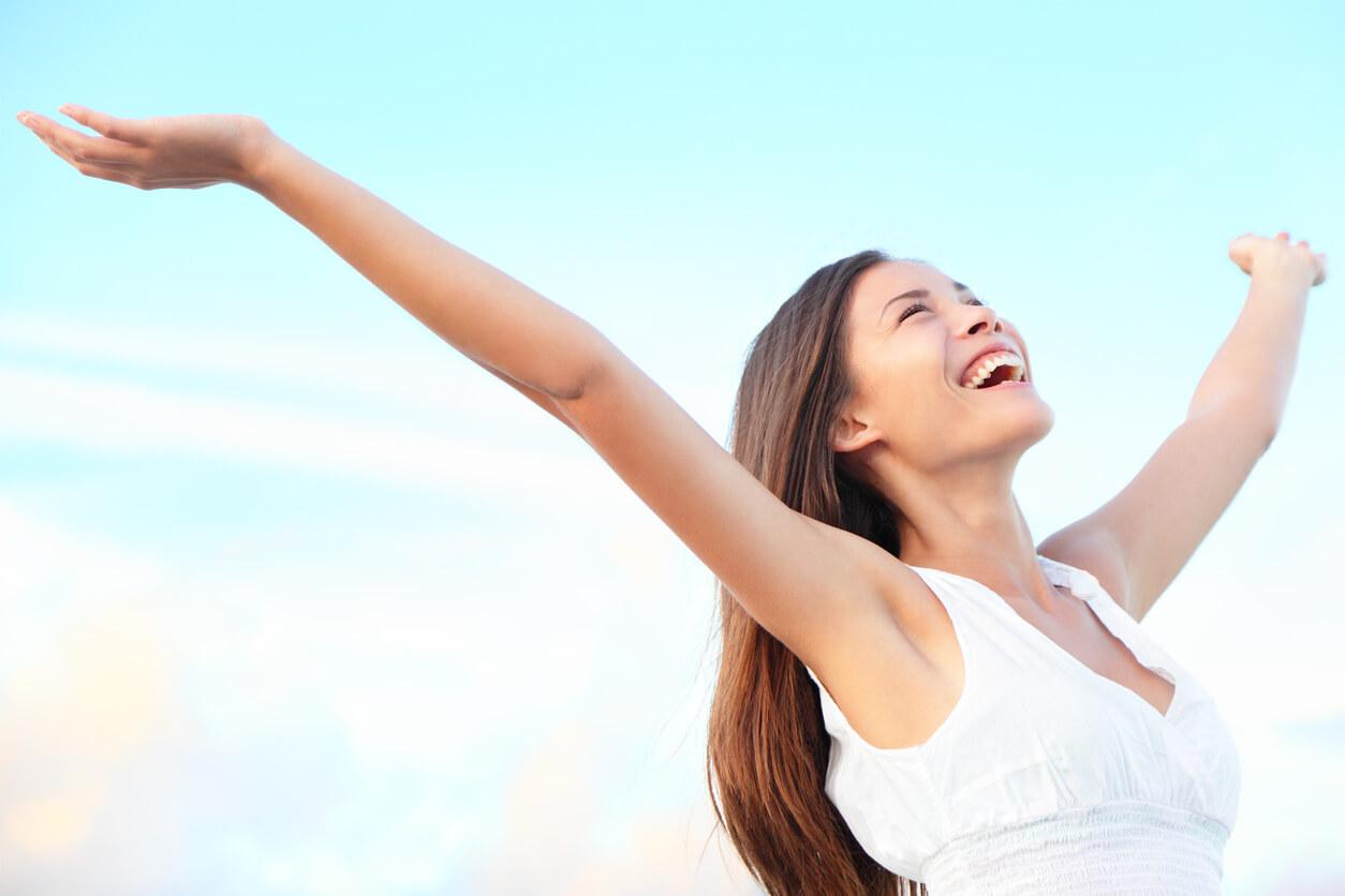Dancing Benefits Your Mental Health. Joy - Bliss - Dancing Benefits Your Mental Health Concept