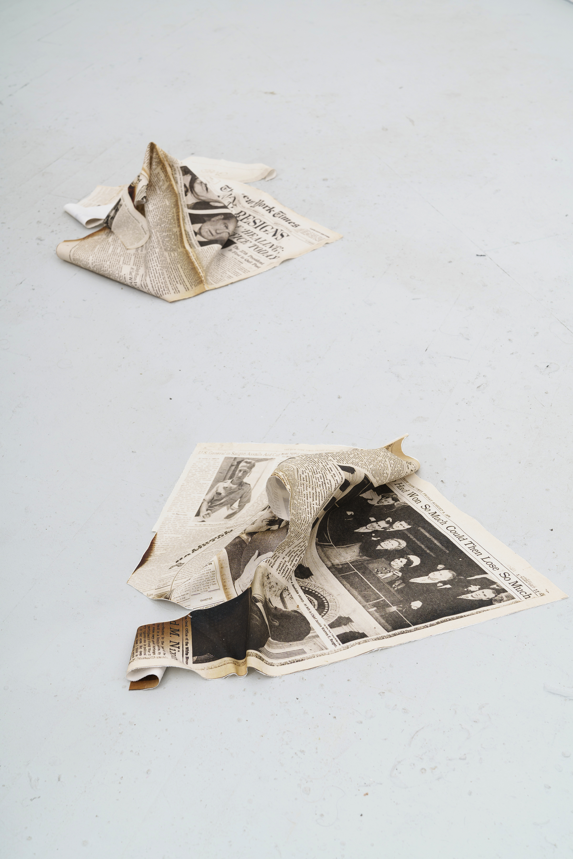 Nixon Paper Piles