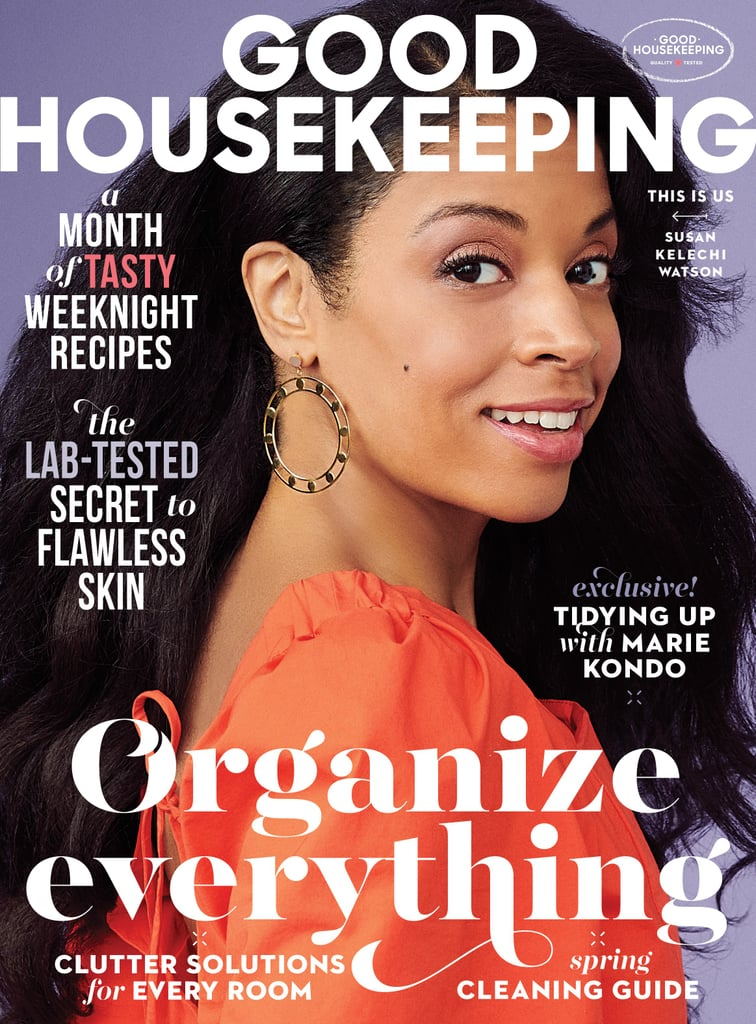 Susan Kelechi in Good Housekeeping, Photography by Amy Neunsinger