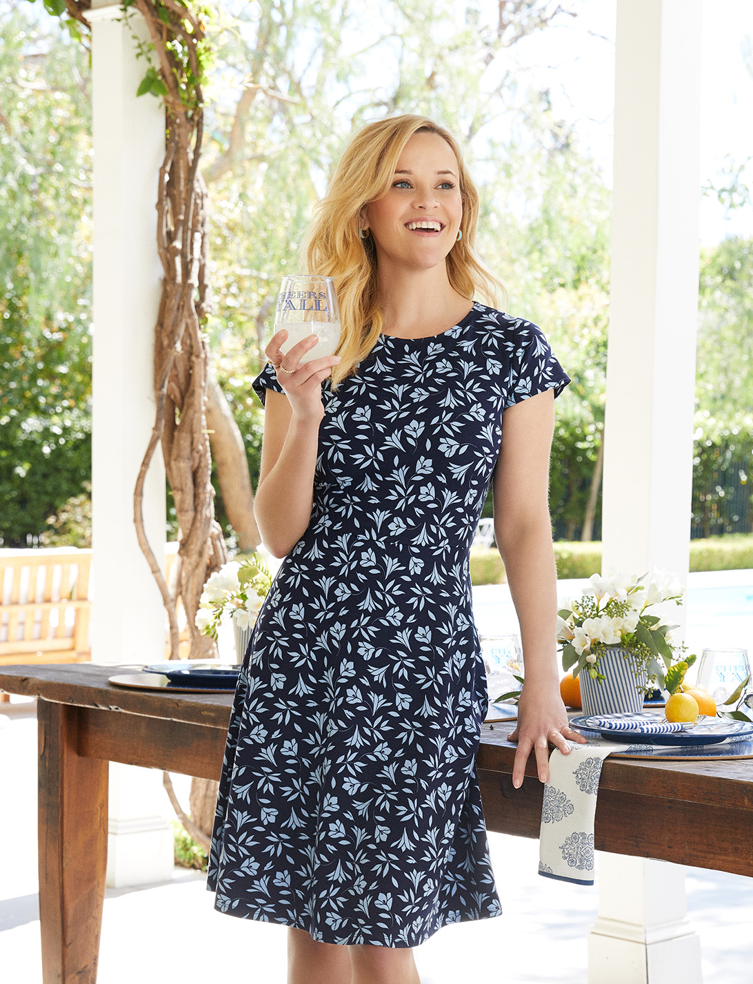 Reese Witherspoon for Draper James, Photography by Amy Neunsinger