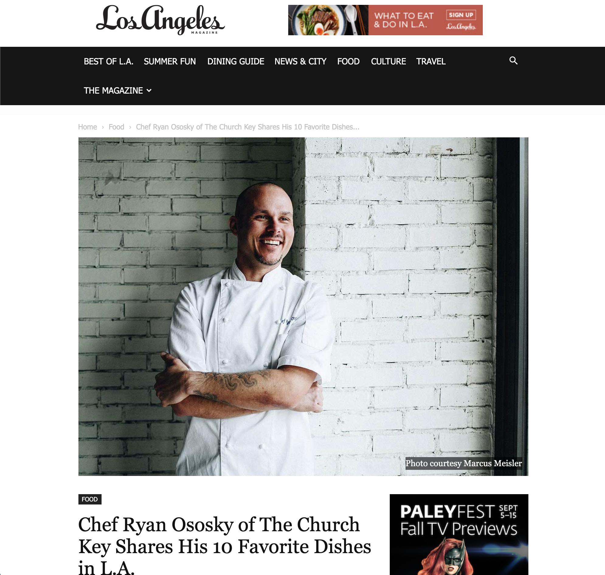 Marcus Meisler - Los Angeles Times