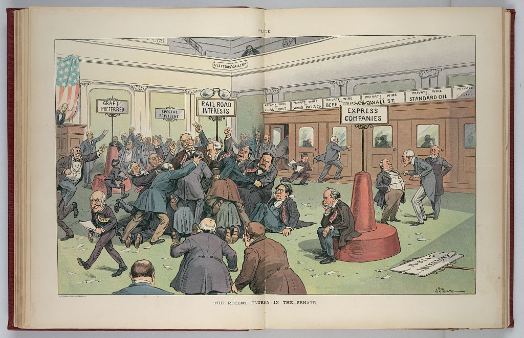 The Recent Flurry in the Senate -  Mar. 21, 1906