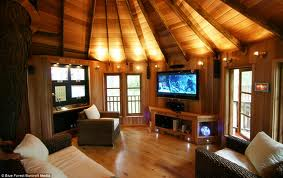 Peek into the Living Space of the Tree House