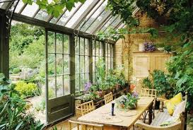 Inspiration for the dining greenhouse, add chandeliers, lanterns and candelabras to add to that mood, divine.