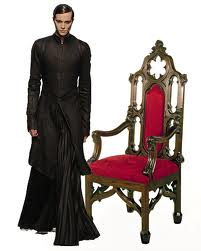 End dining chair, priest optional :)