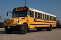 The Yellow School Bus, caution Children on board and around. We are alerted.